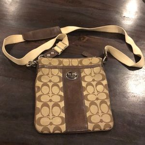 Handbags - Coach authentic cross body bag